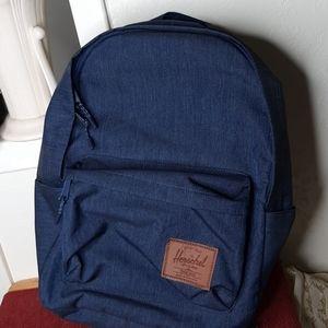 Herschel Backpack denim new condition